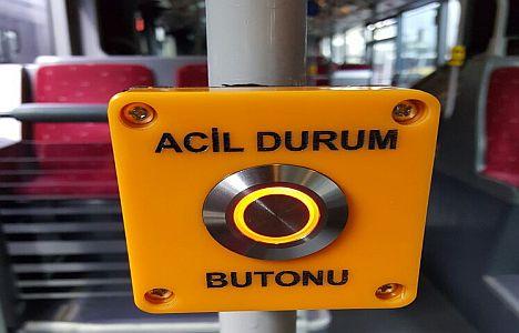 İETT OTOBÜSLERİNE 'ACİL DURUM BUTONU' GELİYOR. (İHA/İSTANBUL-İHA)