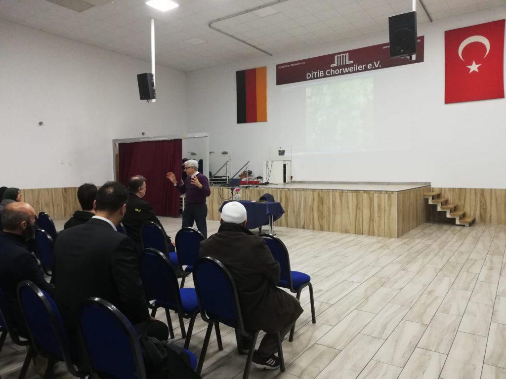 Köln Merkez Caminde eğitimdeyiz